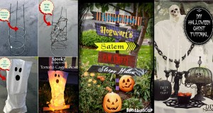 30+ Astounding But Easy DIY Outdoor Halloween Decoration Ideas