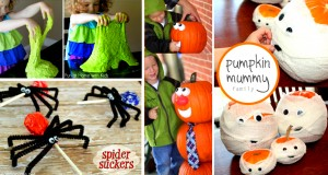 30+ Delightful and Easy Halloween Crafts For Kids To Spruce Up this Festive Season