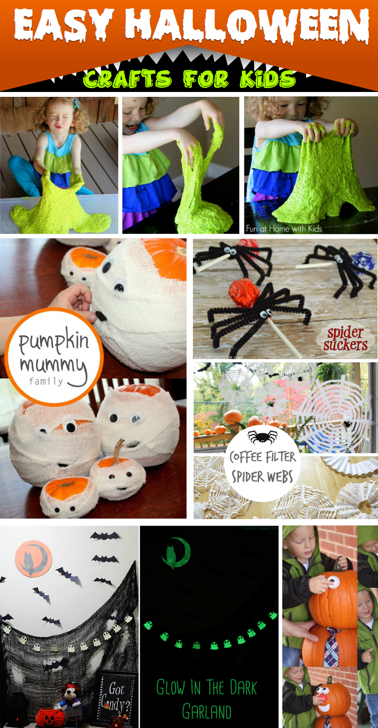 30 delightful and easy halloween crafts for kids to spruce up this festive season