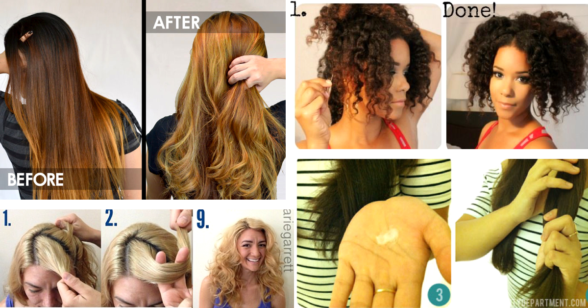 30 extraordinary curly hair hacks to leave you astounded cute 30 extraordinary curly hair hacks to leave you astounded cute diy projects solutioingenieria Images