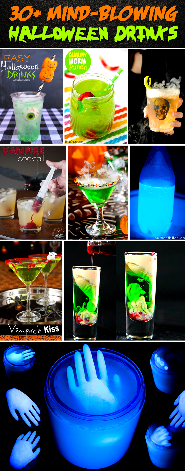 30+ Mind-Blowing Halloween Drinks Celebrating The Essence of Trick-or-Treat At Its Best!