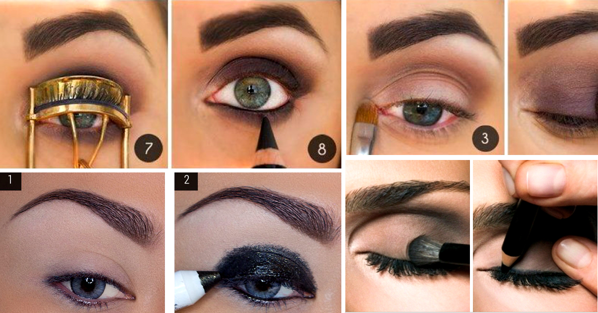 Different Textures and Colors on How to Create a Smokey Eye