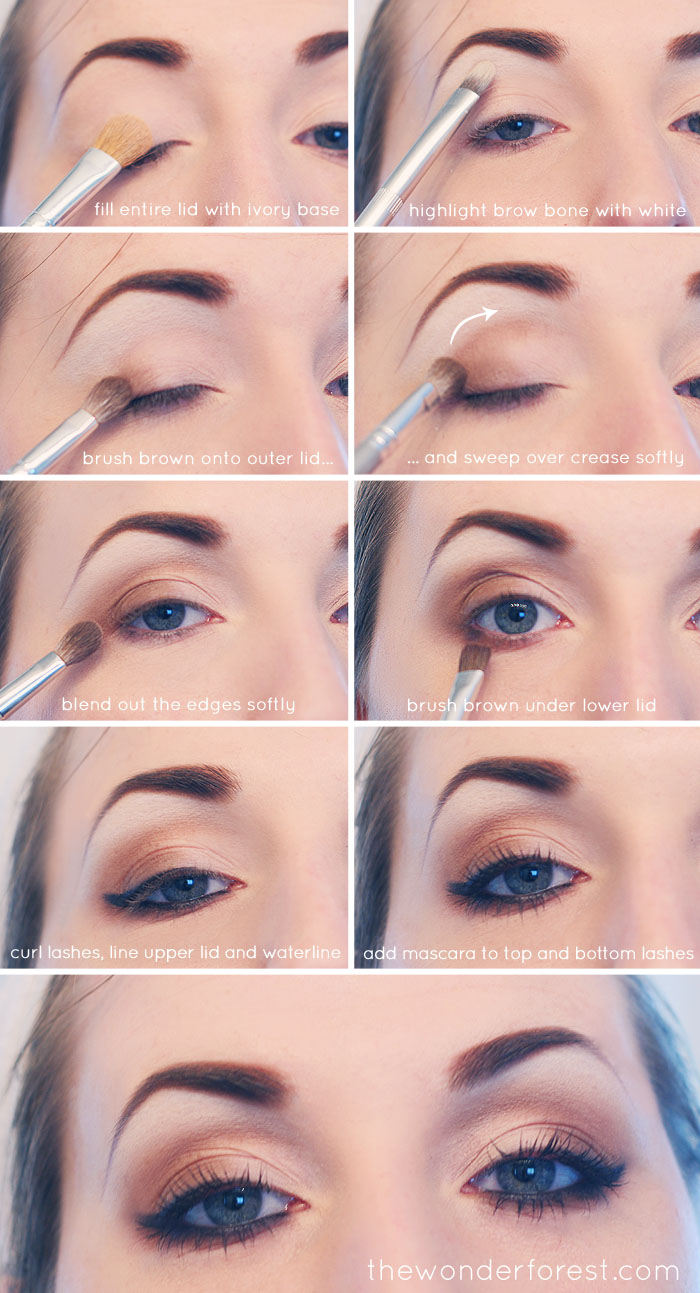Everyday Neutral Smokey Eye Tutorial