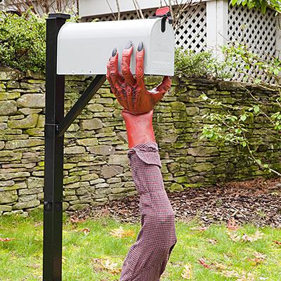 Halloween Mailbox Monster Craft