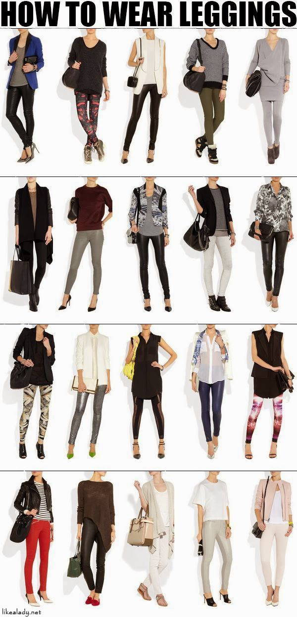 Learn How to Create Stylish looks with Leggings