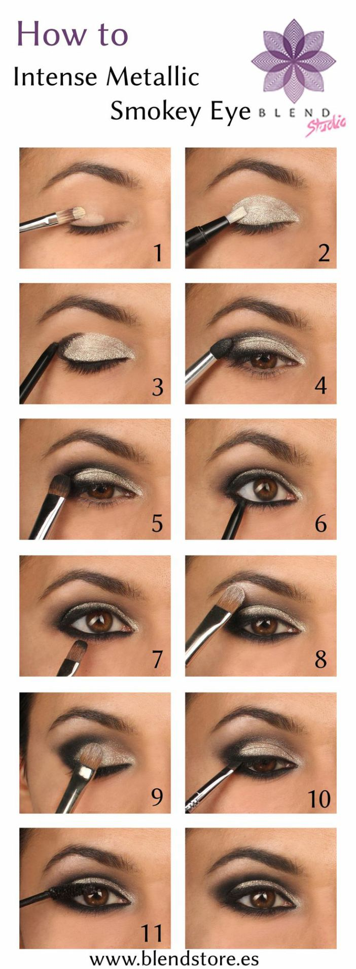 Super 20+ Breathtaking Smokey Eye Tutorials To Look Simply Irresistible  UC09