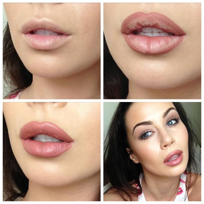 Makeup tutorial: overdrawn lips chicpeajc.