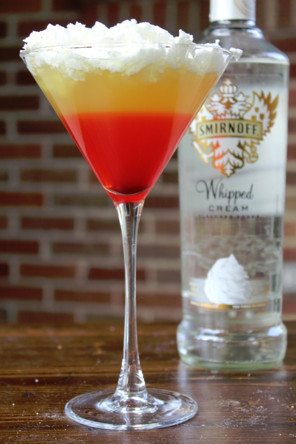 Perfect For Halloween Candy Corn Cocktail