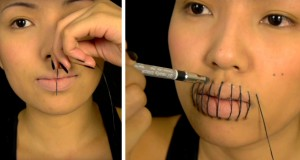 Stitched Mouth Tutorial