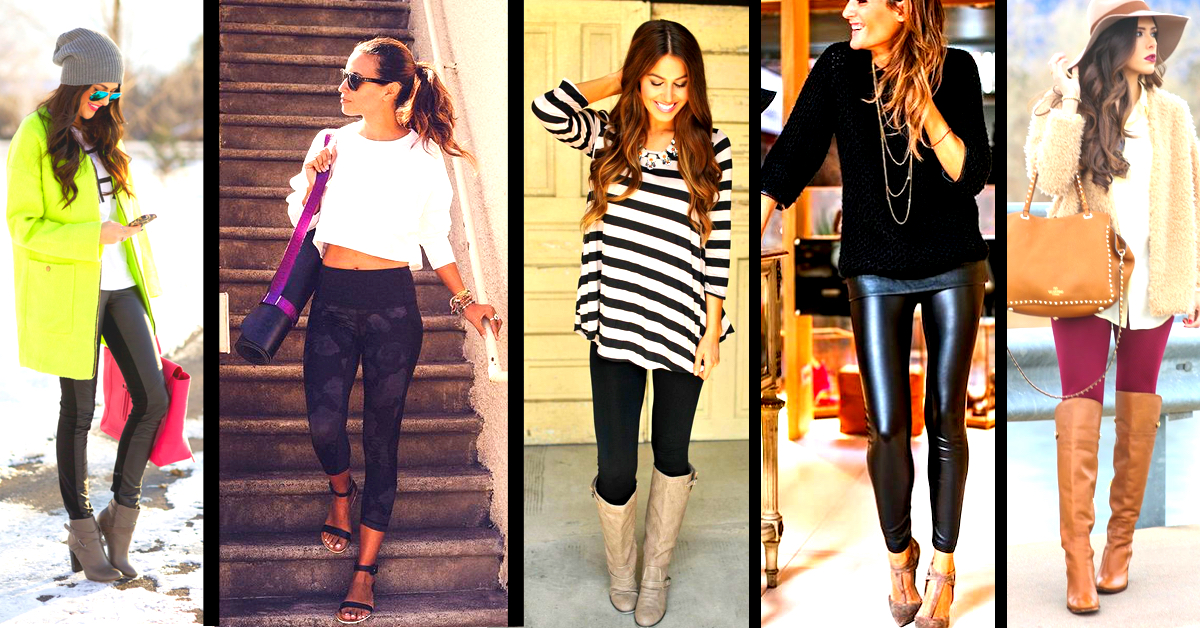6c40e52ef8c59 21 Tips On How To Wear Leggings The Right Way! – Cute DIY Projects