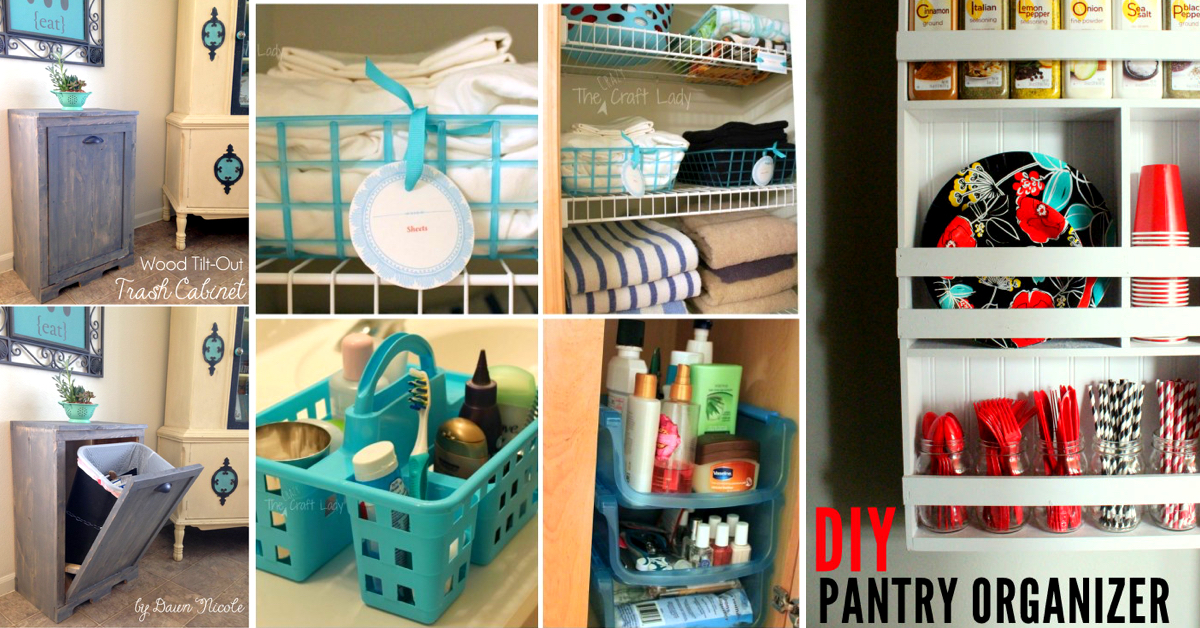35 Exquisite Home Organization Ideas To Get Rid Of All That Clutter Page 3 Cute Diy Projects