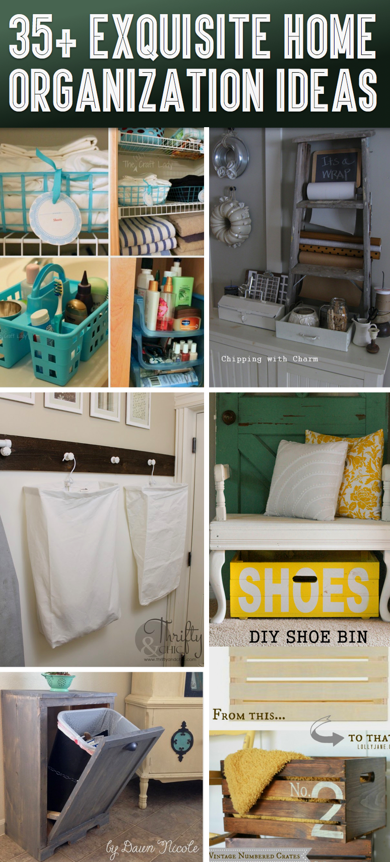 35 exquisite home organization ideas to get rid of all Organizing your home