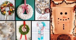 39 Breathtaking DIY Christmas Door Decorations That Truly Scream Merry X'Mas!