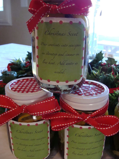Christmas Potpourri in a Jar