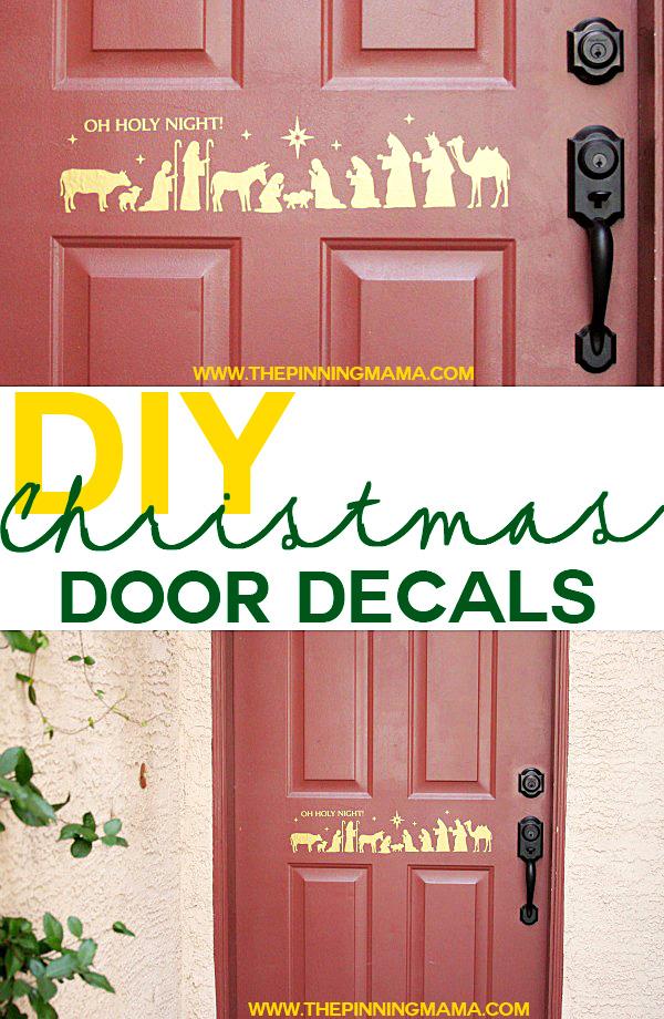 Diy Christmas Decor For Door : Breathtaking diy christmas door decorations in
