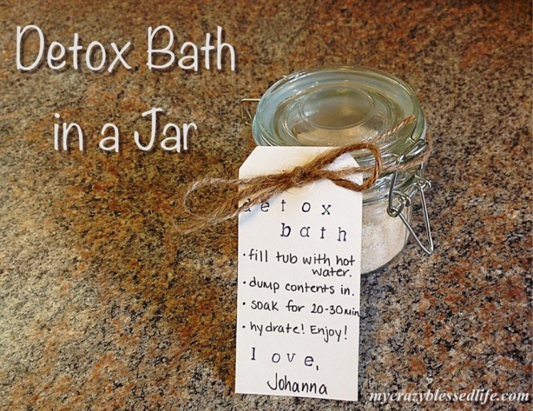 Detox Bath in a Jar