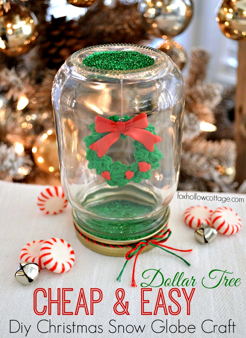 Dollar Tree Mason Jar Christmas