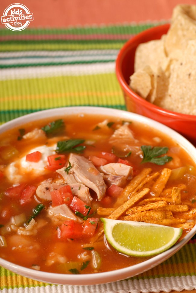 "Feb 16,  · For example, you can add beans and it becomes ""Tarasca"" soup, or if you omit the chicken it is called ""Azteca"" soup. Today, however, I am going to share my recipe for the traditional Chicken Tortilla Soup. It is perfect for cold, rainy days – but if you are like me, you will like it year-round.5/5(4)."