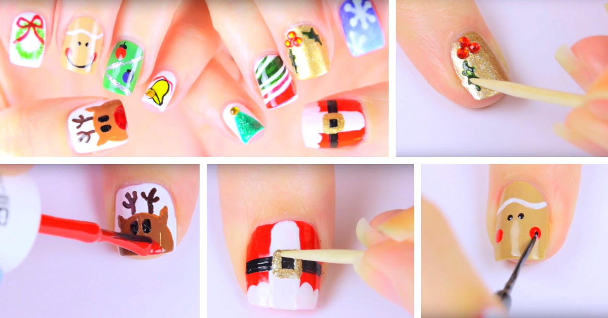 Here Is Your Ultimate Guide To Exquisite Christmas Nail Arts Cute