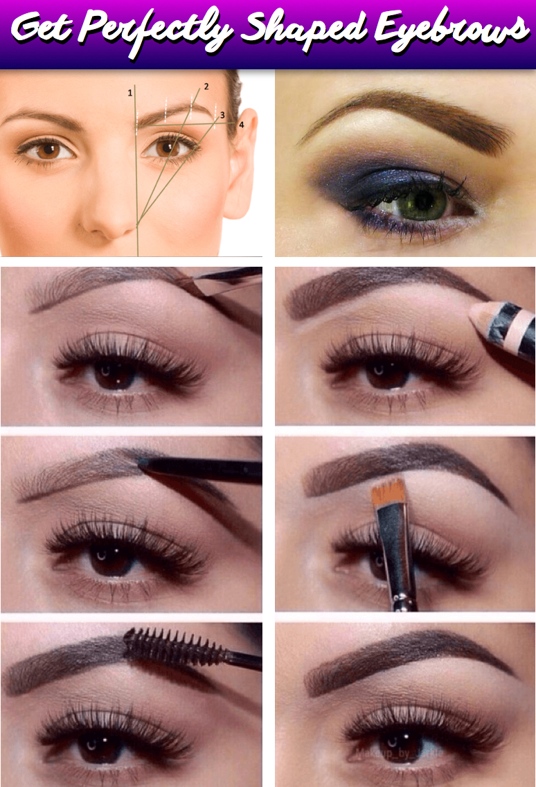 Heres The Perfect Guide To Diy Eyebrow Shaping Cute Diy Projects