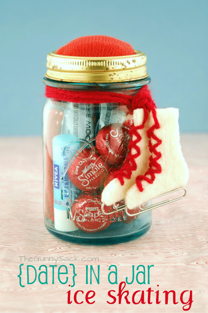 Ice Skating {Date} In A Jar
