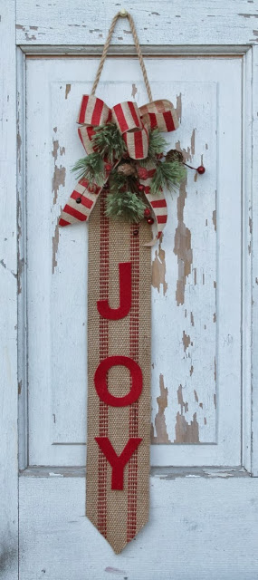 JOY - Christmas Door Hanging