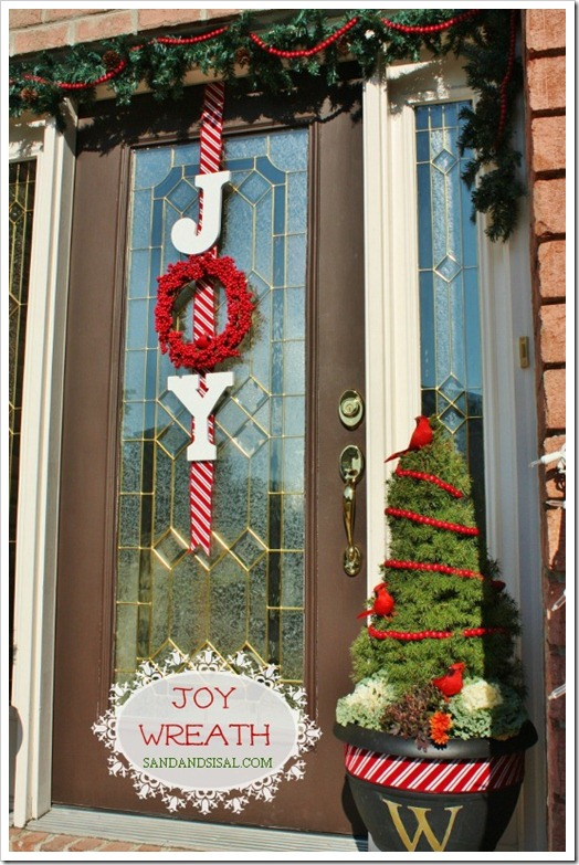 diy christmas decor 39 breathtaking diy door decorations in 2015 436