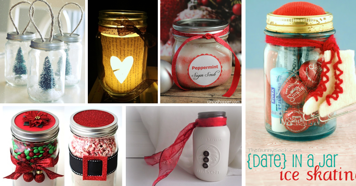 59 Amazing Mason Jar Gift Ideas To Add An Unforgettable Charm To Christmas Cute Diy Projects