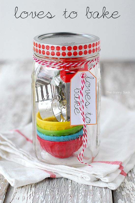 Unique Gifts in a Jar