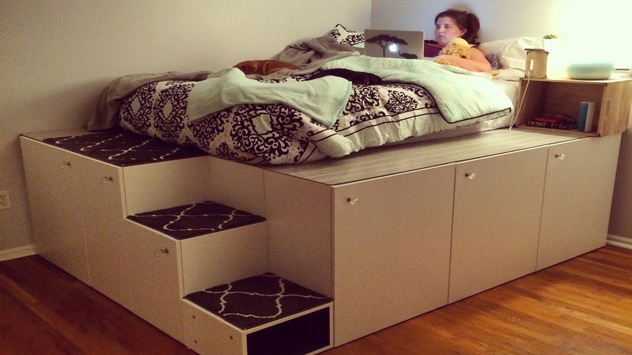 This Man Transforms IKEA Cabinets Into A Super-cool and Spacious Piece of Furniture! – Cute DIY ...