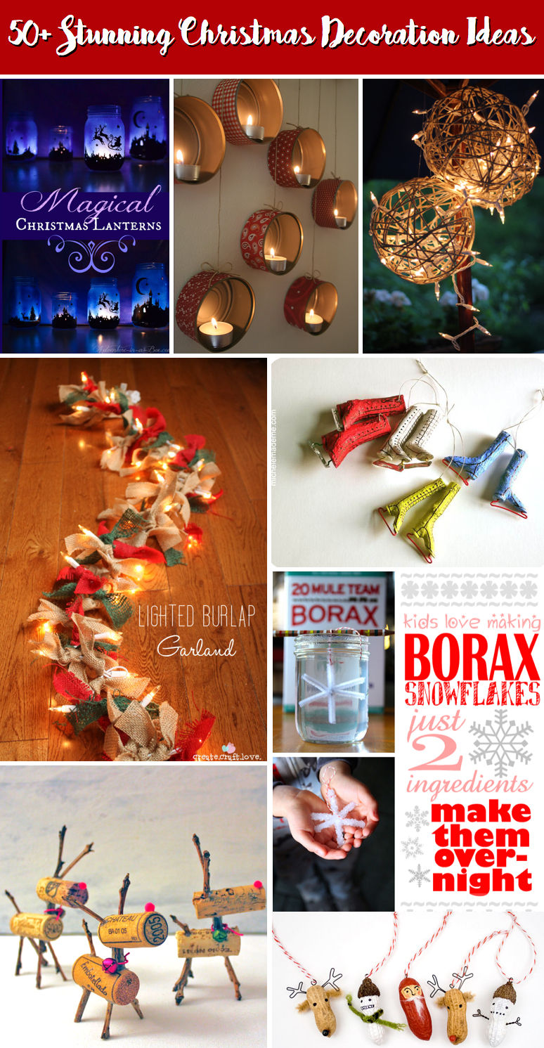 50+ Stunning Christmas Decoration Ideas Casting A Magical