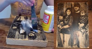 Add That Rustic Touch To Your Photographs With This Exquisite DIY Wooden Picture!