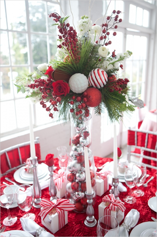christmas table decoration ideas - Christmas Table Decorations