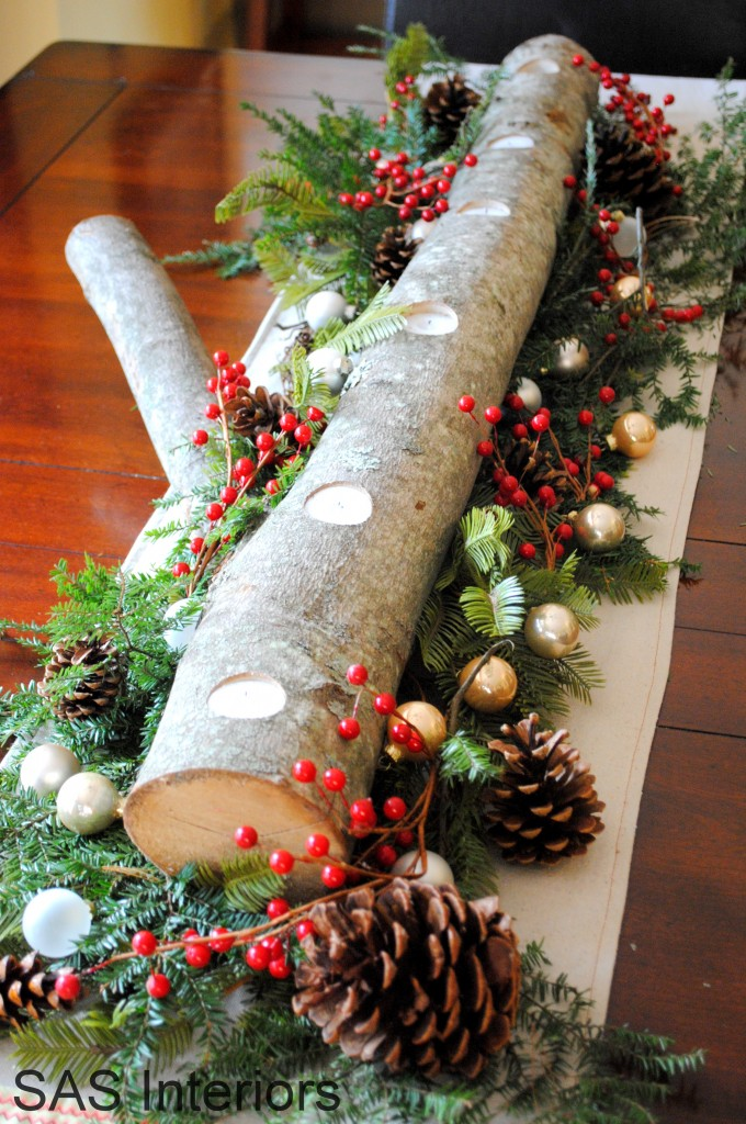 holiday table centerpiece - Holiday Table Decorations Christmas
