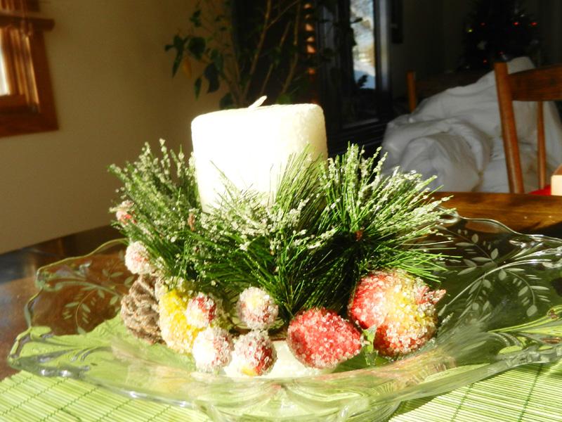 Stunning christmas table decorations
