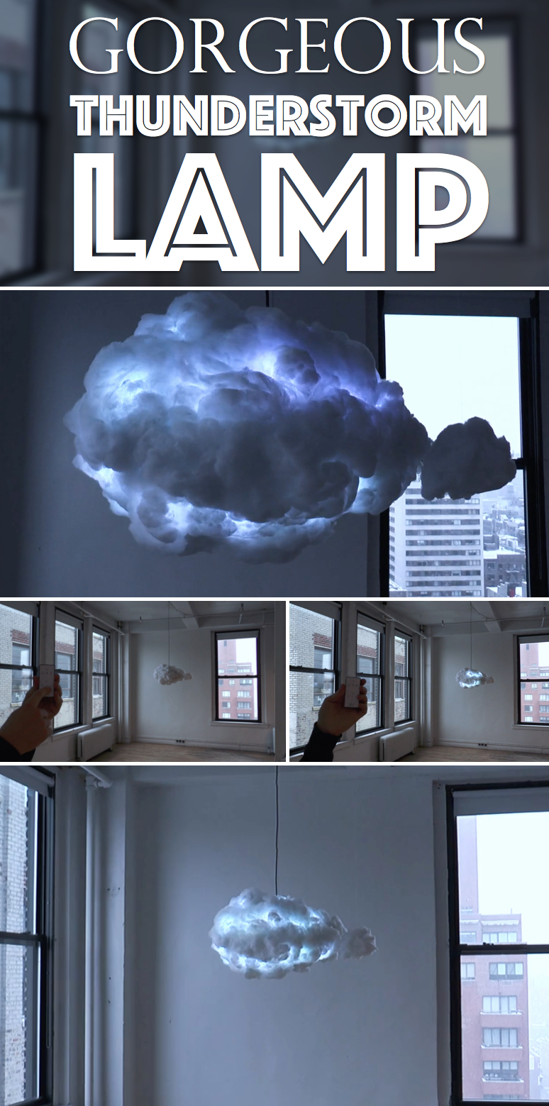 Thunderstorm CLOUD LAMP