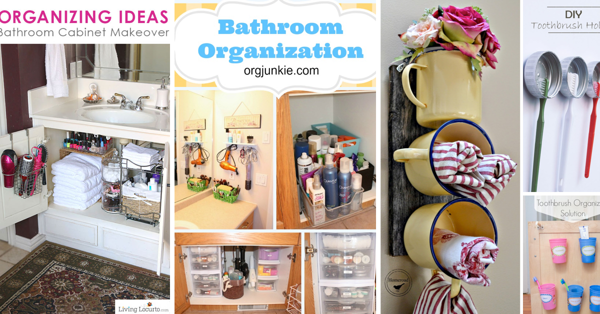Bathroom Cabinets Organizing Ideas 40 simply marvelous bathroom organization ideas to get rid of all