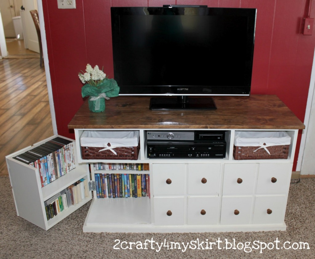 Apothecary Media Console with Storage Doors