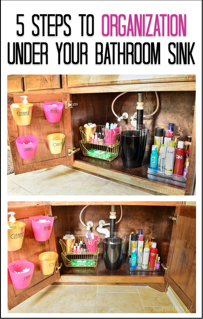 Bathroom Organization : Under the Sink Tips