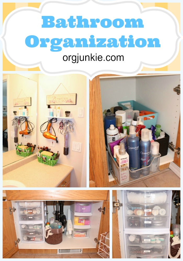 Bathroom Reorganization