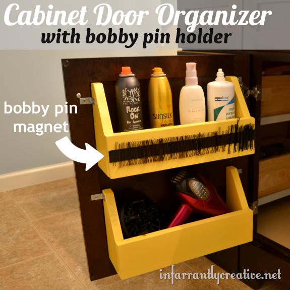 Cabinet Door Storage