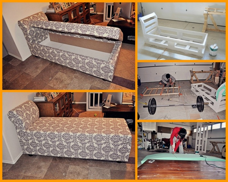 41 mind blowing hidden storage ideas making a clever use for Build chaise lounge