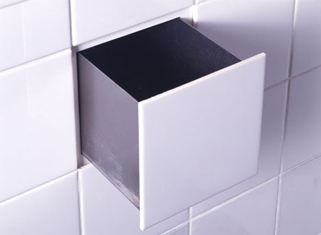 Design Squared: 10 3D Function Tiles for Small Bathrooms