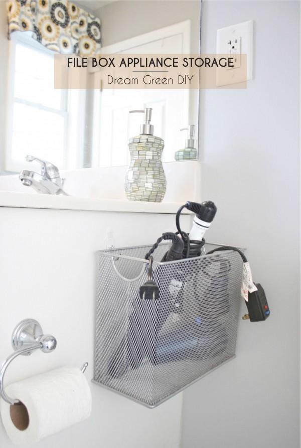 40 simply marvelous bathroom organization ideas to get rid for Bathroom appliances