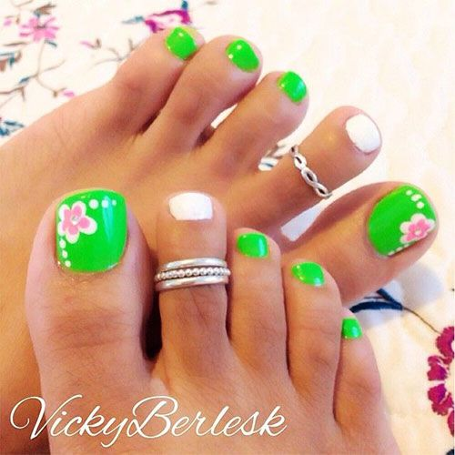 44 Easy And Cute Toenail Designs for Summer – Page 2 of 5 – Cute DIY ...