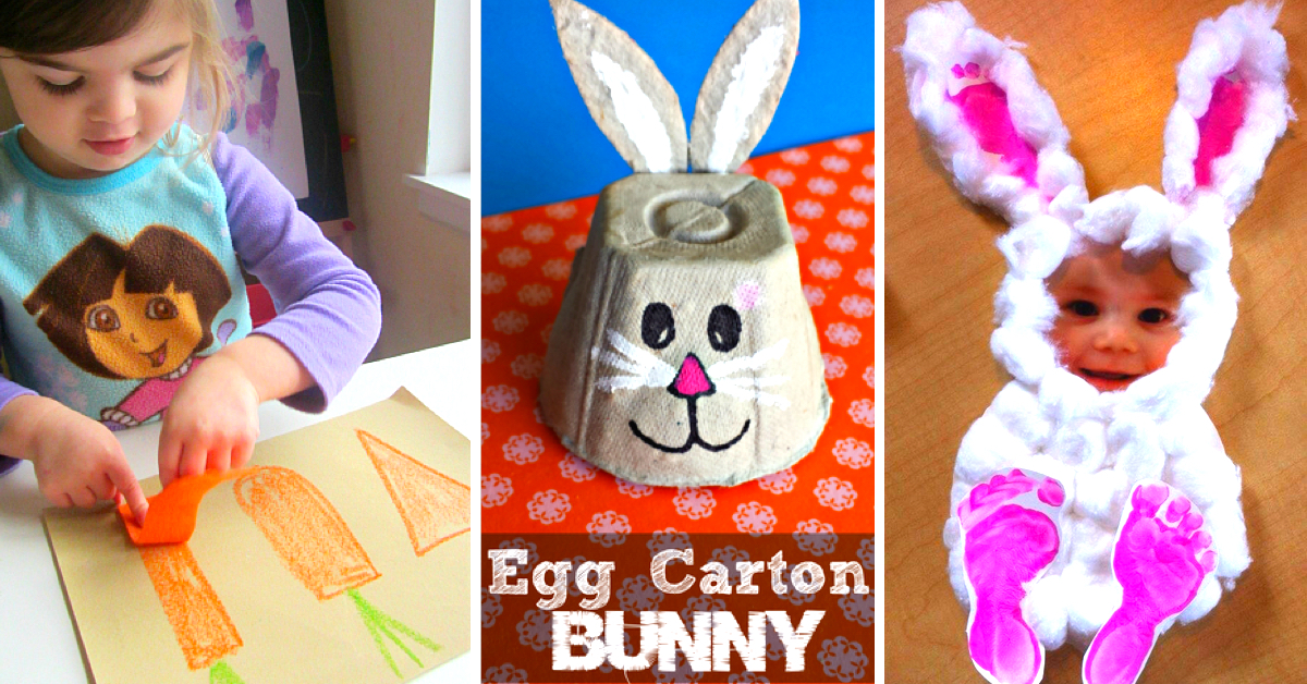 50 cute and creative easter crafts for kids in 2018