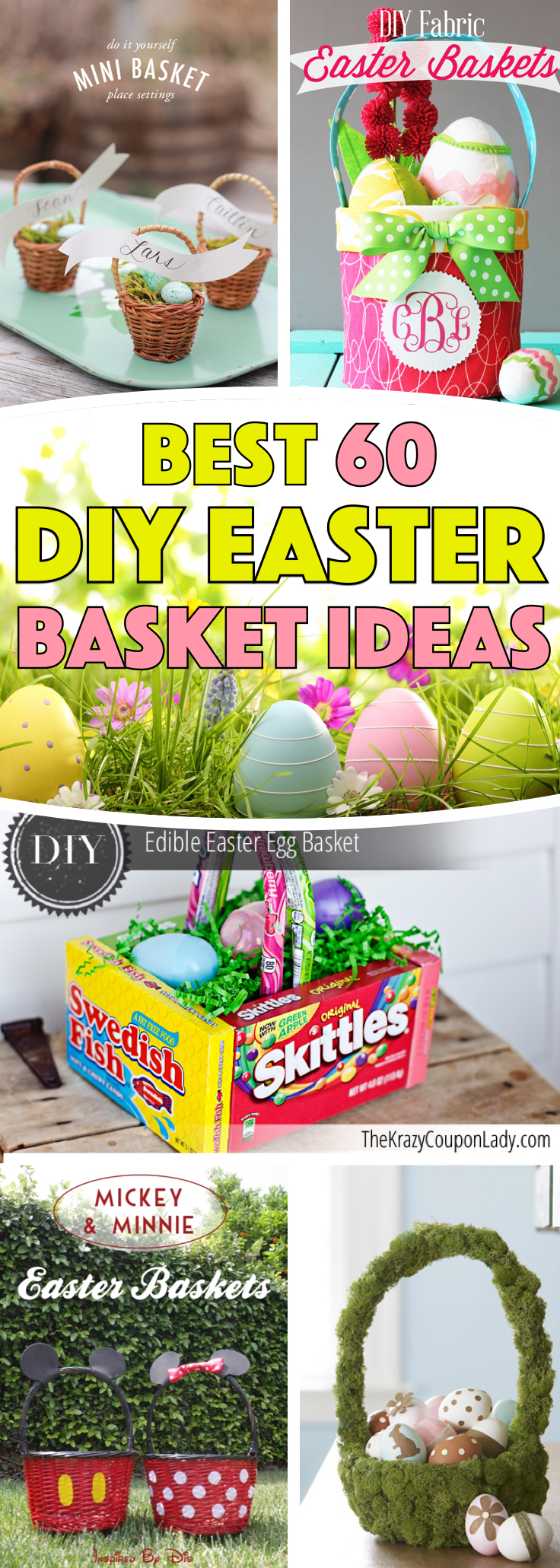DIY Easter Basket Ideas For Your Freshly Dyed Easter Eggs