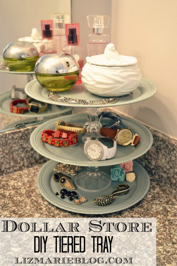 6. DIY Tiered Tray