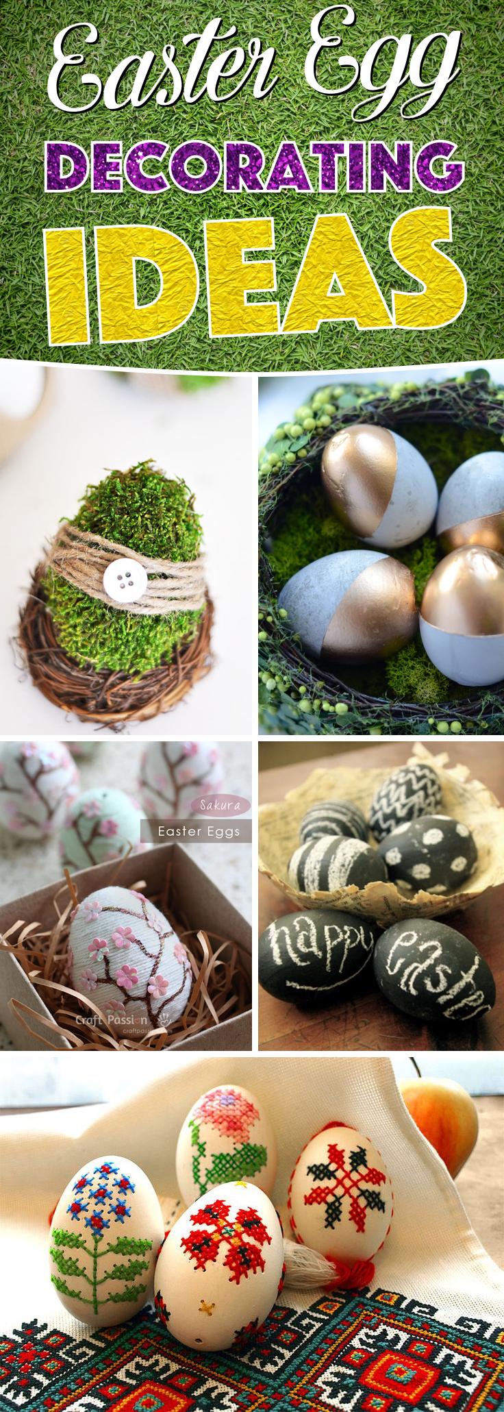 Easter Egg Decorating Ideas For The Artist Hidden Inside You