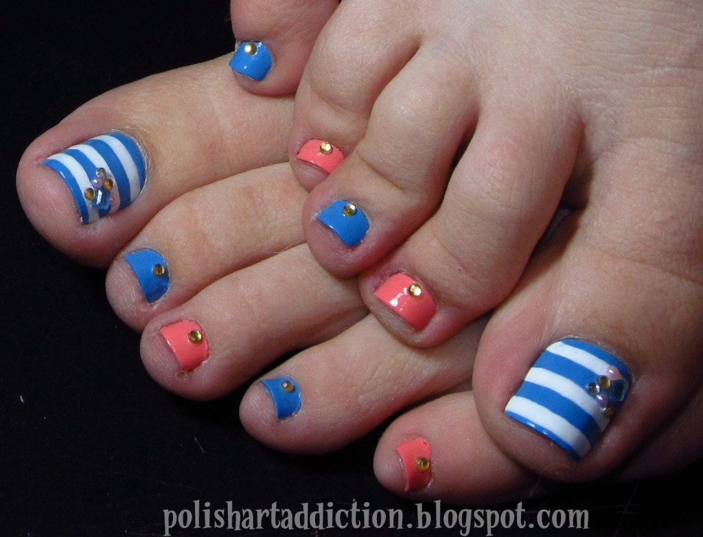 44 Easy And Cute Toenail Designs for Summer – Page 5 of 5 – Cute DIY ...